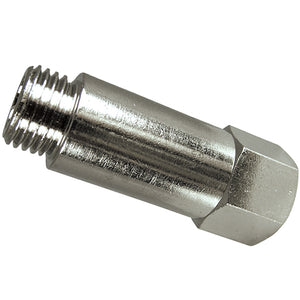 "Male X Female Extended Parallel Adaptor Thread:  G1/8"" / Length 22mm CODE: EMFA18B"