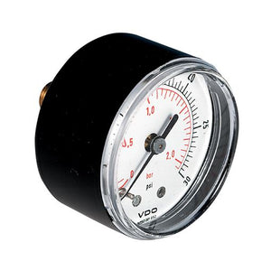 Pressure gauge, Back Entry, ABS Case EVGR040118