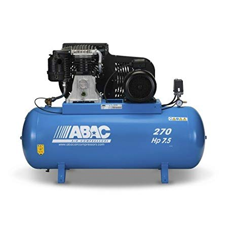 Belt Driven ABAC Compressor 7.5HP/5.5KW, 28.9CFM/11BAR / PRO B6000 270 FT7.5 - Lubricated /Part no. 4116020193