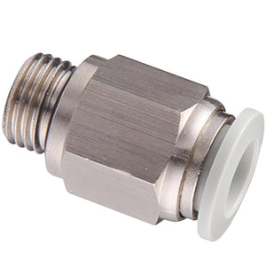"Parallel Male Stud Thread BSPP G1/8""X 10mm Tube"