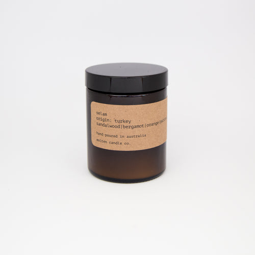 selam [175ml]: sandalwood | bergamot | orange | patchouli