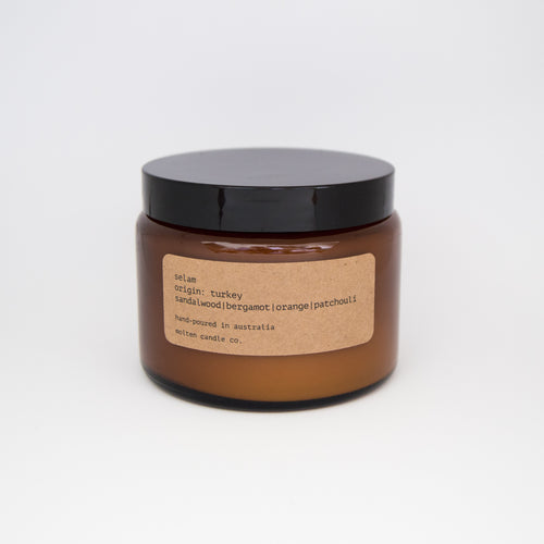 selam [500ml]: sandalwood | bergamot | orange | patchouli
