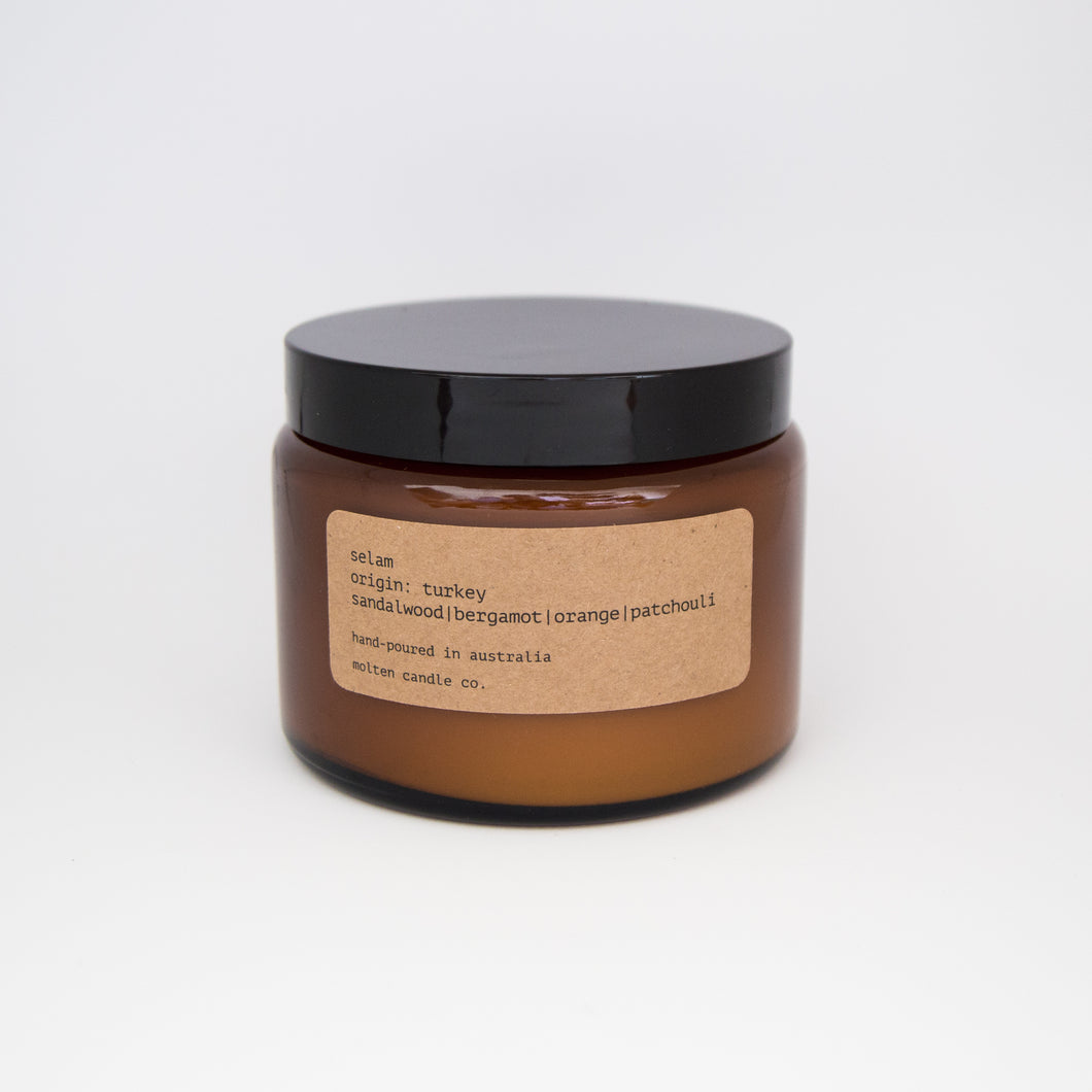 selam [500ml]: bergamot | spiced honey | geranium | nutmeg