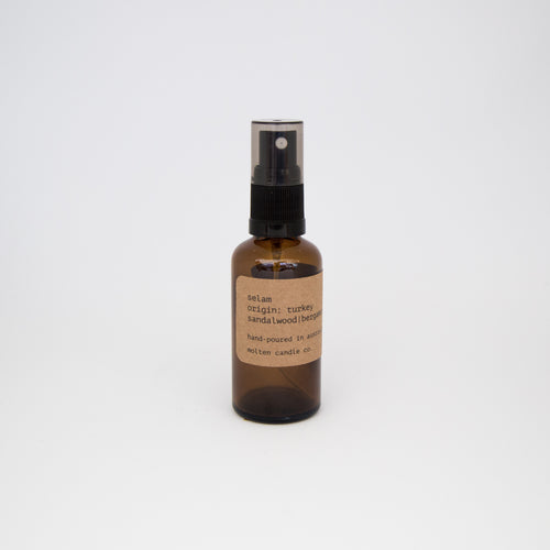 selam [room mist]: bergamot | spiced honey | geranium | nutmeg