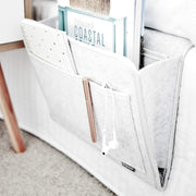 Bedside Organiser - Bedside Caddy_Light Grey
