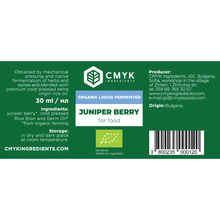 Juniper Berry BIO Liquid Fermented