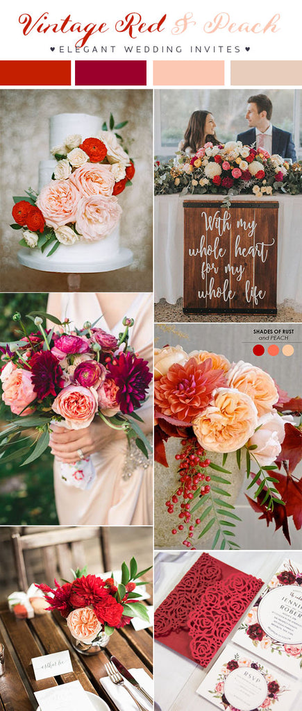2018 Wedding Color Trend