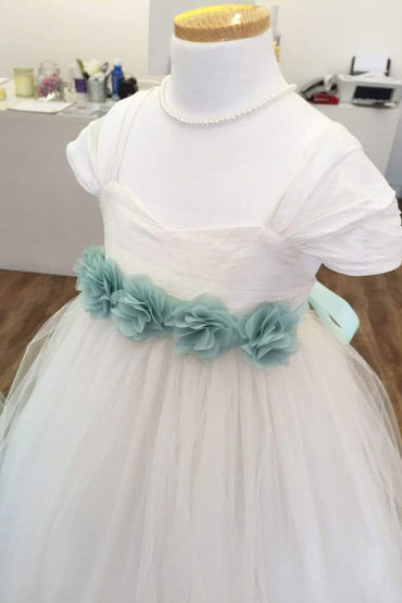 communion dresses 105 Sash for the dress Petite Adele flower girl dresses