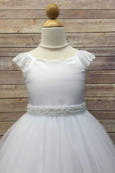 communion dresses 106Sash Petite Adele flower girl dresses