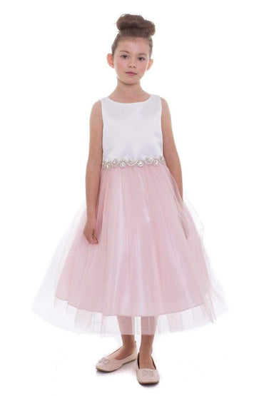 communion dresses Abigail Dress Blush vendor-unknown flower girl dresses