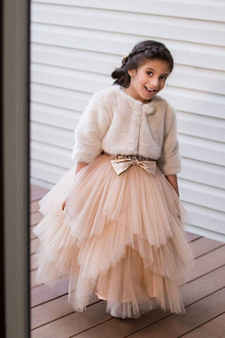 communion dresses Adele Jacket vendor-unknown flower girl dresses