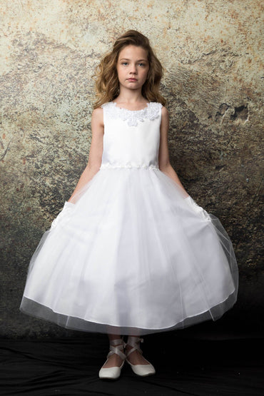 communion dresses Adriana Dress-White vendor-unknown flower girl dresses