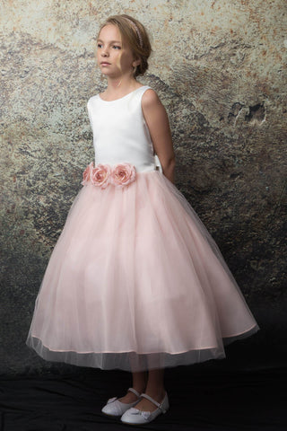 communion dresses Allison Dress Champagne Petite Adele flower girl dresses