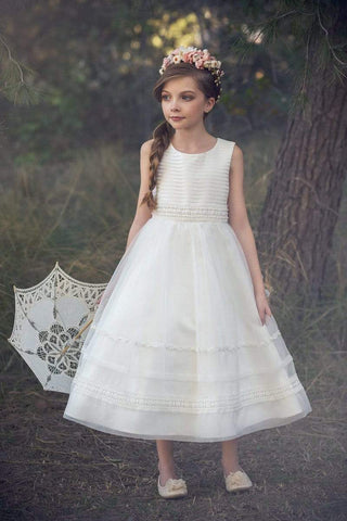 communion dresses Brea Dress Ivory vendor-unknown flower girl dresses