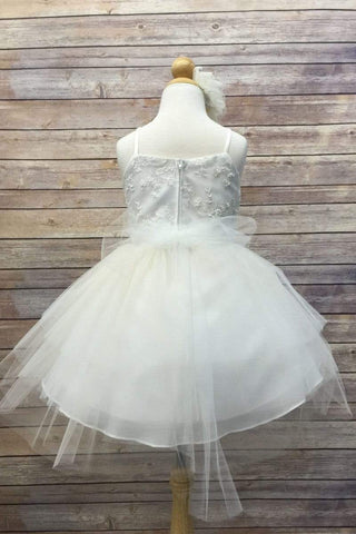 communion dresses Brooklyn Dress- Ivory vendor-unknown flower girl dresses