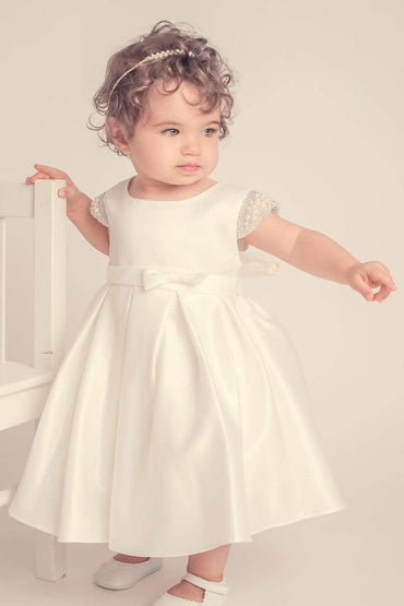 communion dresses Elsie's Baby Dress-Ivory vendor-unknown flower girl dresses