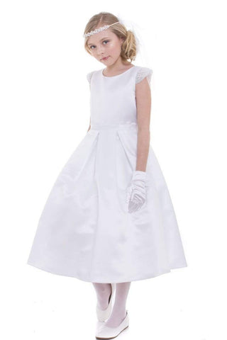 communion dresses Elsie's Baby Dress-White vendor-unknown flower girl dresses