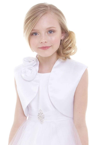 communion dresses Jackie Bolero vendor-unknown flower girl dresses