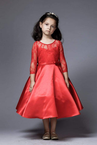 communion dresses Kelly Dress PETITE ADELE flower girl dresses