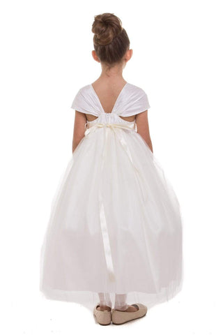 communion dresses Lenna Dress- Blush vendor-unknown flower girl dresses
