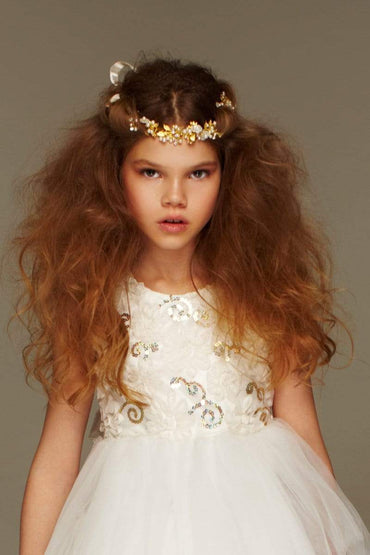 communion dresses Oh my Golden Sash vendor-unknown flower girl dresses