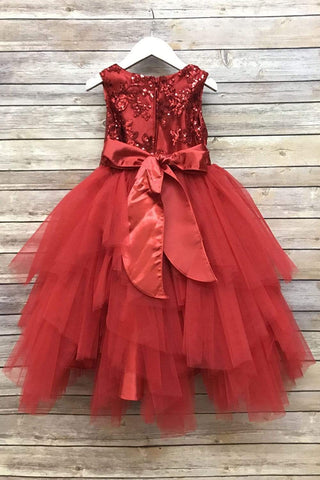 communion dresses Peyton Dress Red vendor-unknown flower girl dresses