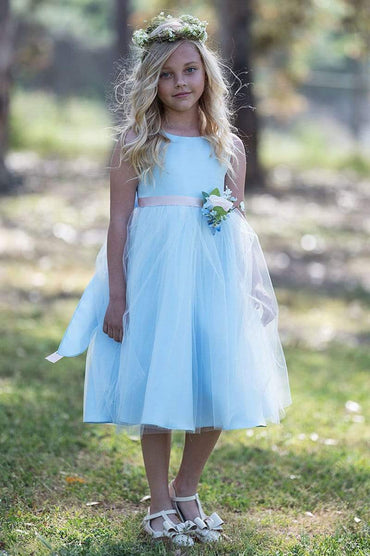 communion dresses Rosybell Dress Blue Petite Adele flower girl dresses