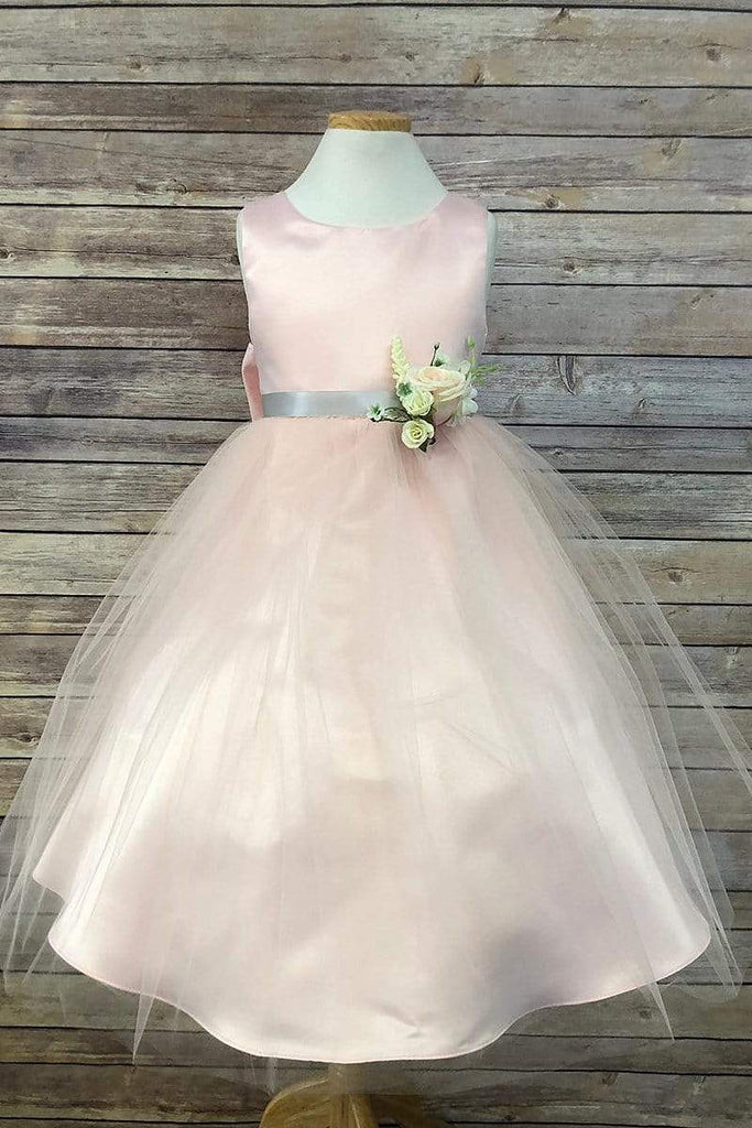 communion dresses Rosybell Dress Sage Petite Adele flower girl dresses