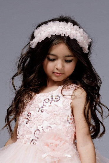communion dresses Ruffled hair-tie or choker vendor-unknown flower girl dresses