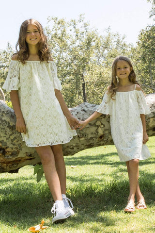 communion dresses Summer Boho Off The Shoulder  dress-ivory vendor-unknown flower girl dresses