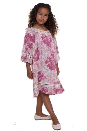 communion dresses Summer Tunic Dress_pink vendor-unknown flower girl dresses