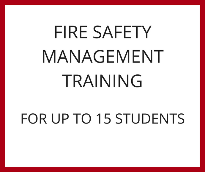Fire Safety Management Training