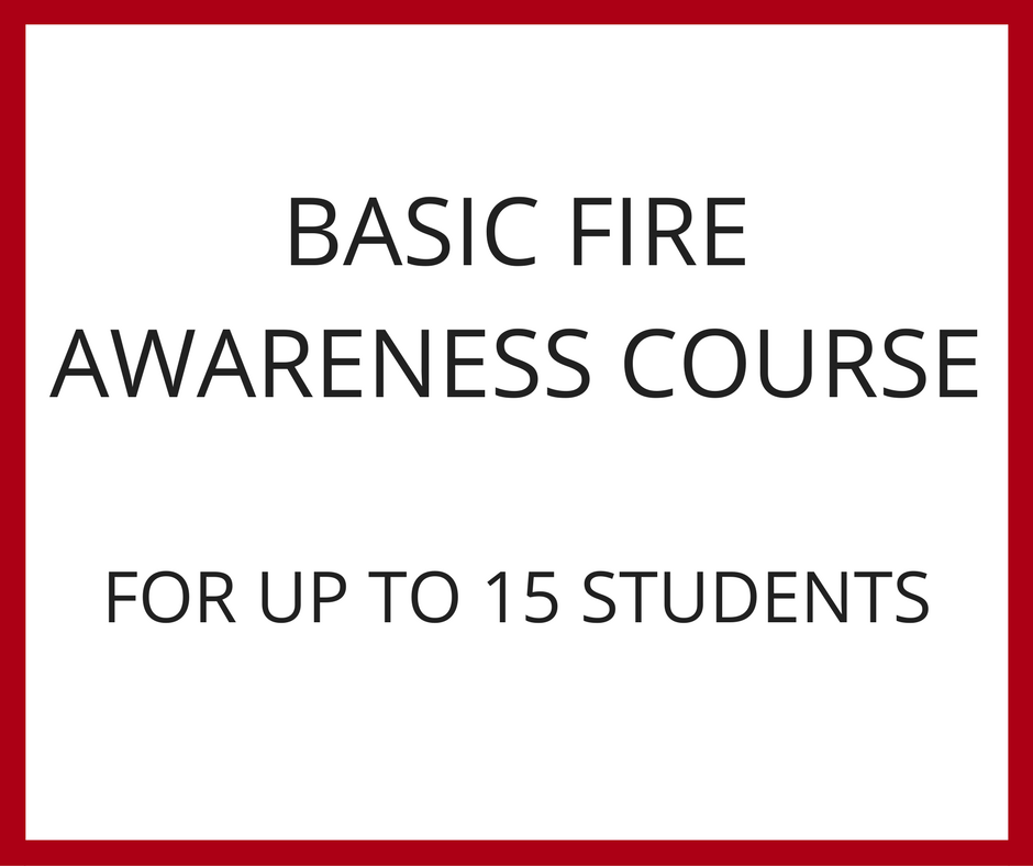 Basic Fire Awareness Training
