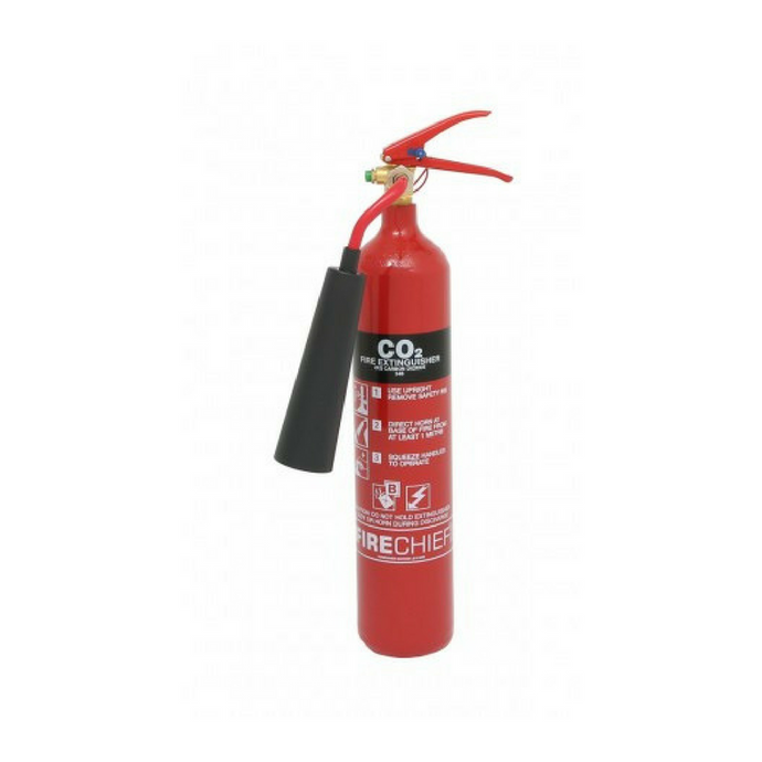 2 KG Steel CO2 Fire Extinguisher