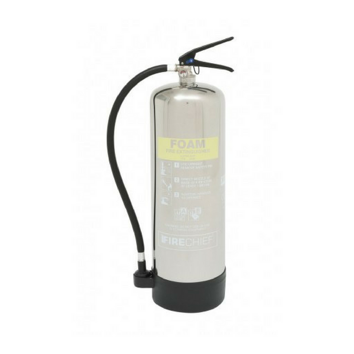 9 Litre Polished Foam Extinguisher