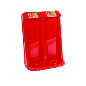 Vacuum Formed Double Fire Extinguisher Stand