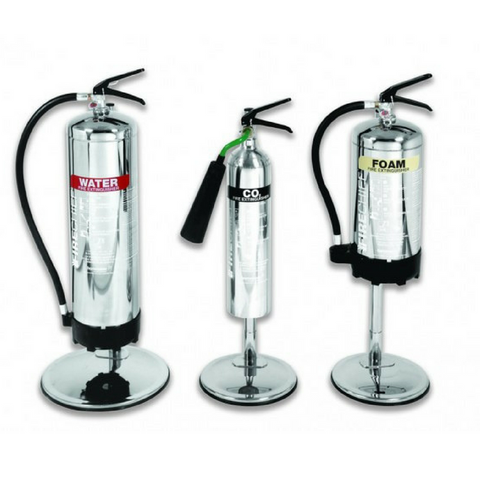 6KG/ 6L Stainless Steel Extinguisher Stand