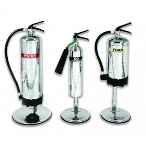 9KG/ 9L Stainless Steel Extinguisher Stand