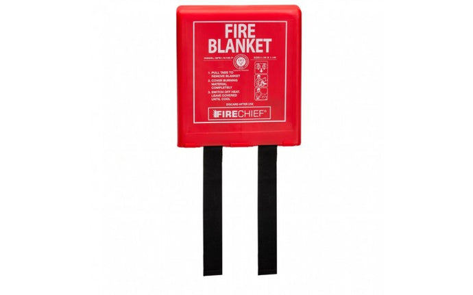 Rigid Case Fire Blanket - 1.1m x 1.1m