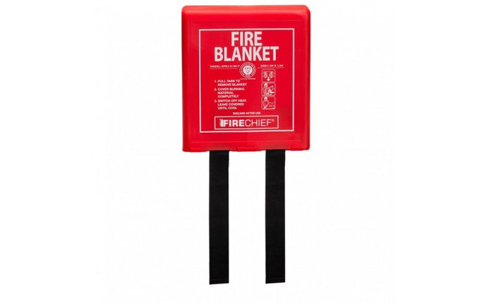 Rigid Case Fire Blanket - 1.2m x 1.2m