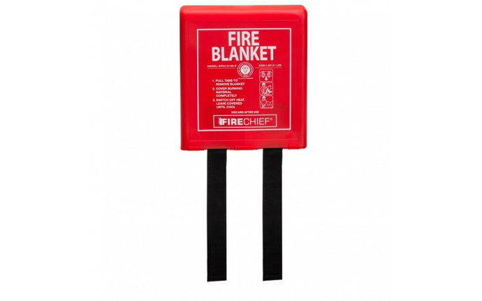 Rigid Case Fire Blanket - 1.2m x 1.8m