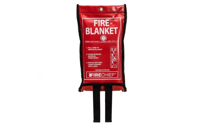 Soft Case Fire Blanket - 1.1m x 1.1m