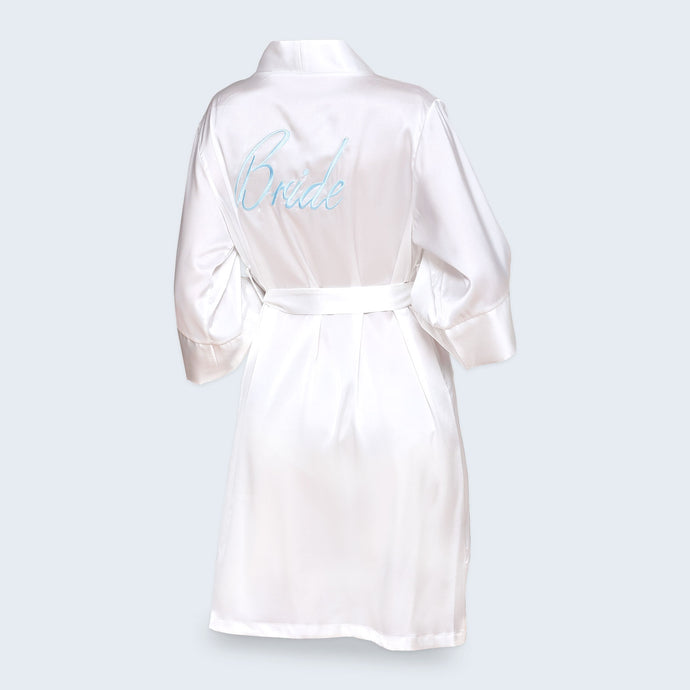 Bride Silk Robe