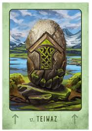 Oracle of the week - Tiwaz - honor your agreements, and be true in all your dealings
