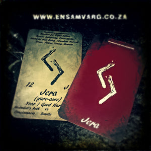 Rune Oracle of the Week - Jera - Reward for Right Action
