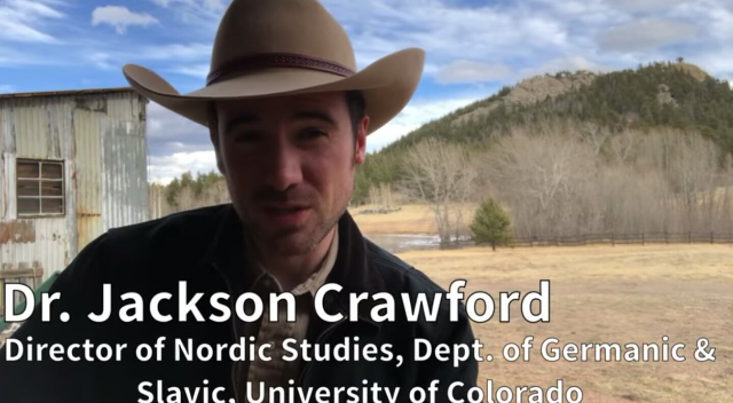 An Introduction to the Norse Gods and Goddesses - Dr. Jackson Crawford (UCLA)