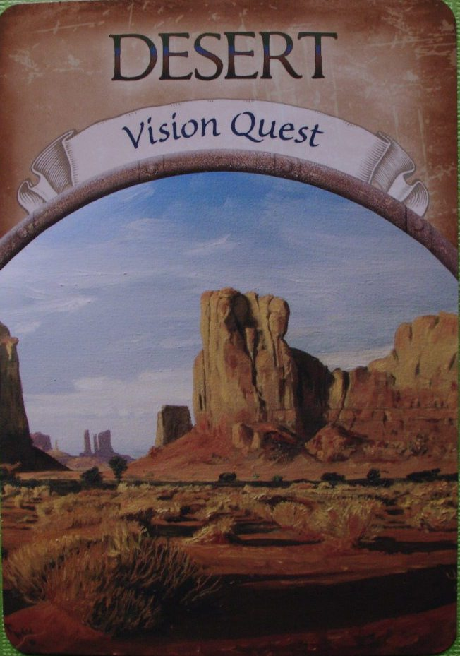 Weekly Oracle Card -Desert - Vision Quest (2018-04-04 Wed)