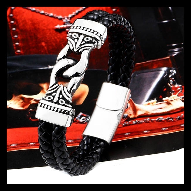 Viking Lovers Totem Bracelet