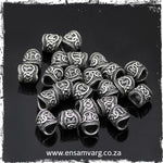 Beard Rings - Elder Futhark