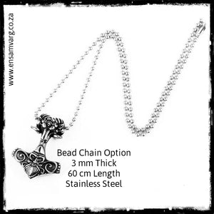 Mjolnir - Thors Hammer Necklace